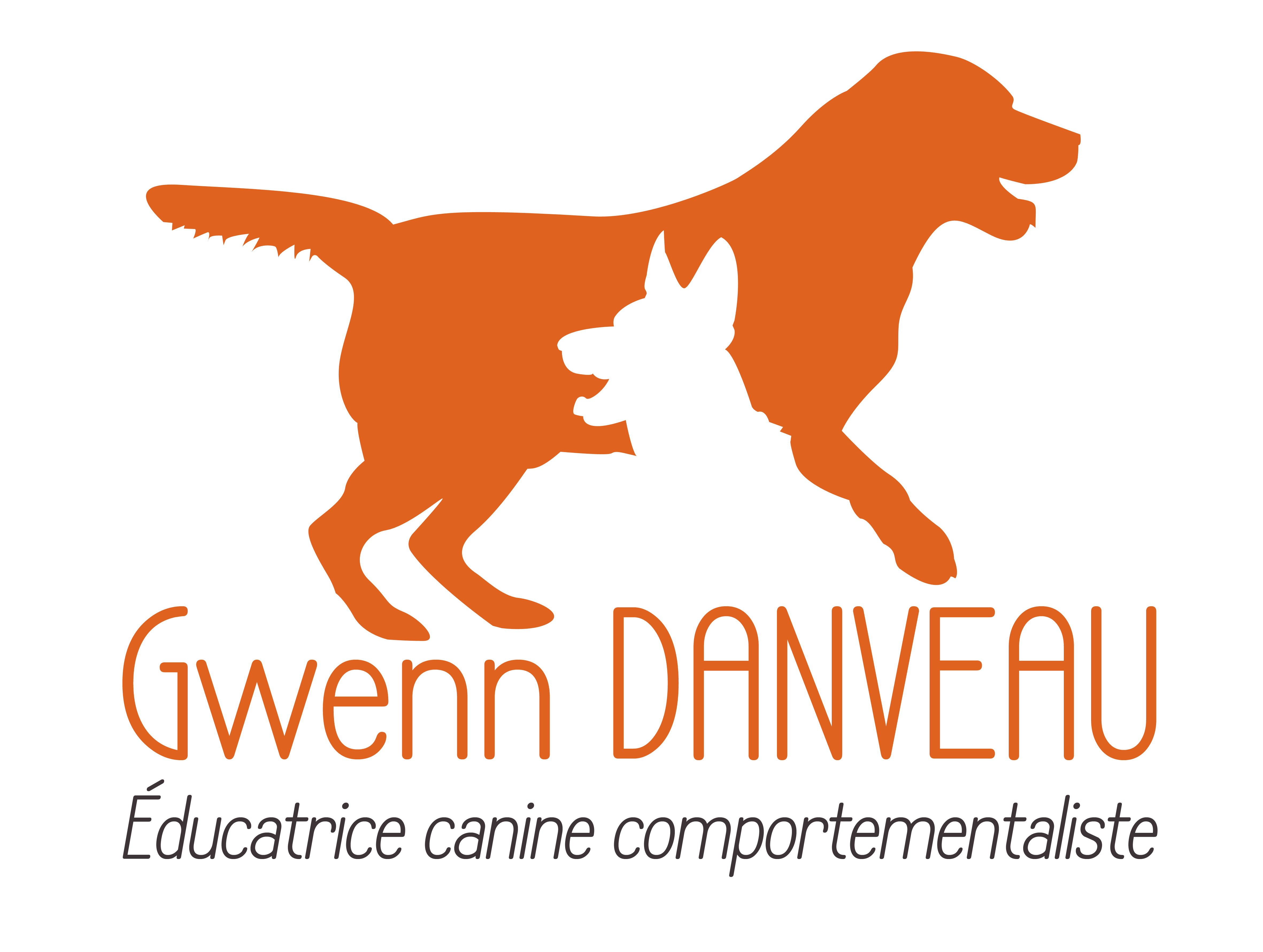 GWENN DANVEAU  Educatrice canine Comportementaliste 06 25 78 43 98